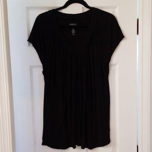 Long (ish) V-neck short sleeve